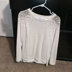 Sequin sweater XL
